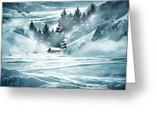 Winter Seclusion Greeting Card