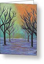 Winter Solitude 11 Greeting Card