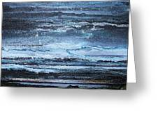 Winter Storms And Moonlight No1 Greeting Card