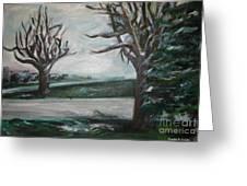 Winterland Slumber Greeting Card