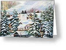 Wintertime In Vail 2286 Greeting Card