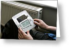 Wireless Thermostat Greeting Card