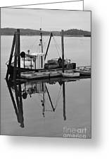 Wiscasset Reflection Greeting Card