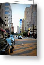 Wisconsin Avenue 2 Greeting Card