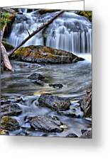 Wisconsin Waterfall Greeting Card