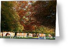 Wiseton Hall Stables Greeting Card