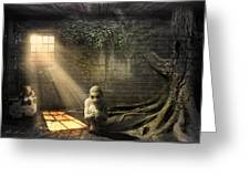 Wishing Play Room Greeting Card by Svetlana Sewell