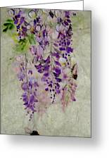 Wisteria Oh Wisteria Greeting Card