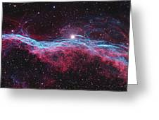 Witchs Broom Nebula Greeting Card
