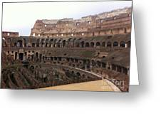 Within The Colosseum Greeting Card