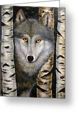 Wolf Beauty Greeting Card