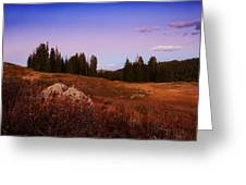 Wolf Creek Twighlight Greeting Card