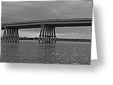 Wolf River Bridge Greeting Card
