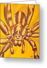 Wolf Spider Greeting Card by Thomas Maynard