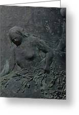 Woman Sculpture Greeting Card