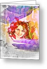 Woman's Soul Part 2 Greeting Card