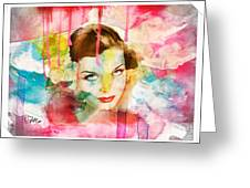 Woman's Soul Prelude Greeting Card