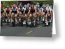 Women's Criterium Tour De White Rock Greeting Card