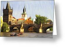 Wonderful Prague Greeting Card