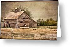 Wood Barn Greeting Card