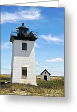 Wood End Lighthouse In Provincetown On Cape Cod Massachusetts Greeting Card