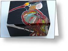 Wood Pecker Greeting Card