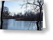 Wooded Island Exposition Greeting Card