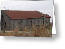 Wooden Barn Greeting Card