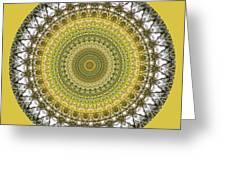 Woodland Abstract Greeting Card