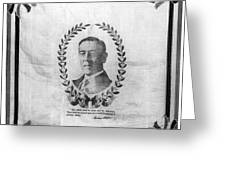 Woodrow Wilson Bandana Greeting Card