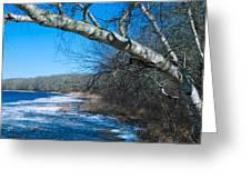 Wordens Pond Winter Greeting Card