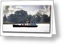Workboat Greeting Card