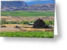 Working Farm Greeting Card