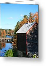 Working Gristmill Greeting Card