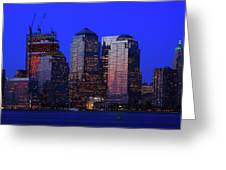 World Financial Center New York Greeting Card