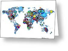 World Peace Digital Art By Bill Cannon
