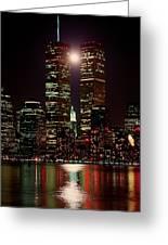 World Trade Center Greeting Card