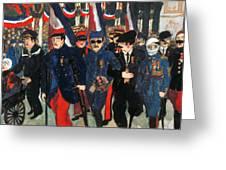 World War I: Veterans Greeting Card