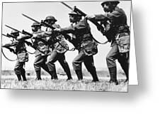 World War II: Training Greeting Card