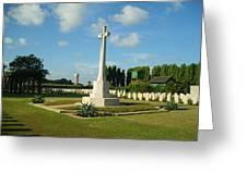 World War Memorial Greeting Card