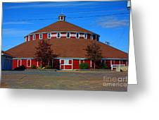 Worlds Largest Barn Greeting Card