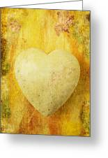 Worn Heart Greeting Card