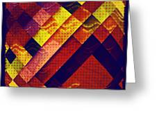 Woven Waves Greeting Card