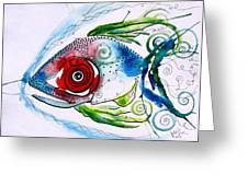 Wtfish 001 Greeting Card