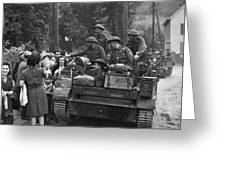 Wwii Liberation Of France Greeting Card