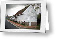 Wye Mill - Street View Greeting Card