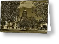 Wyoming Capitol Greeting Card