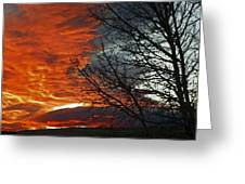 Wyoming Sunrise 2 Greeting Card
