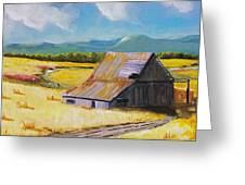 Wyoming Valley Greeting Card