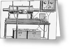 X-ray Machine Greeting Card